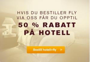 Travelpartner tilbud hotell